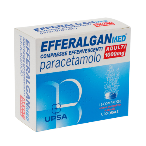 Efferalganmed 1000 mg - 16 tabs effervescenti Image