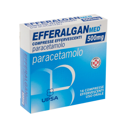 Efferalganmed 500 mg - 16 tabs effervescenti Image